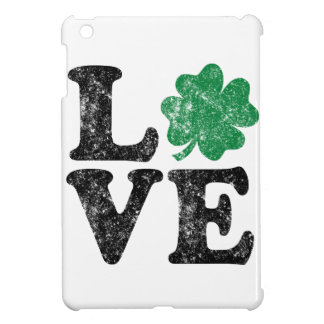 St Patrick's Day LOVE Shamrock Irish iPad Mini Covers