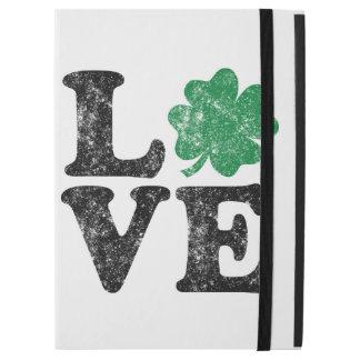 "St Patrick's Day LOVE Shamrock Irish iPad Pro 12.9"" Case"