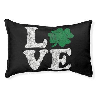 St Patrick's Day LOVE Shamrock Irish Pet Bed