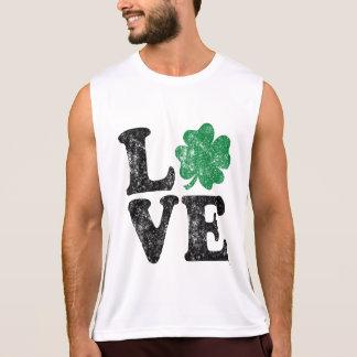 St Patrick's Day LOVE Shamrock Irish Singlet