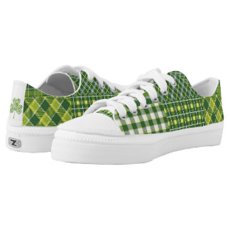 St. Patrick's Day low top Shoes Printed Shoes