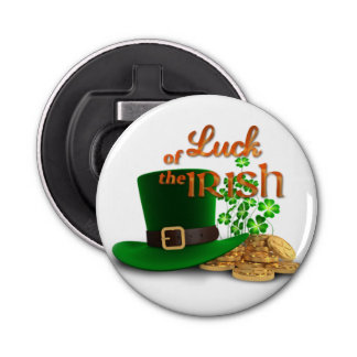 "St. Patrick's Day - ""Luck of the Irish"" Bottle Opener"