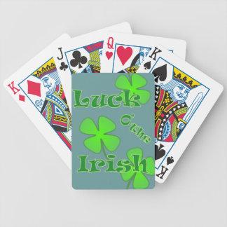 St Patricks Day - Luck of the Irish Poker Cards