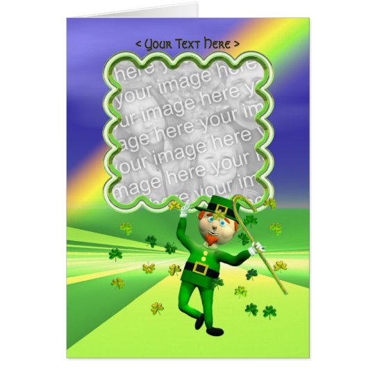 St. Patrick's Day Lucky Dance Template Card