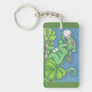 ST. PATRICK'S DAY LUCKY IRISH DRAGON KEYCHAIN