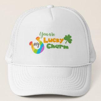 St Patricks Day Lucky Irish Trucker Hat
