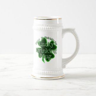 St Patrick's Day Lucky Mug