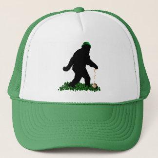 St Patrick's Day Lucky Sasquatch Cap