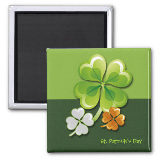 St.Patrick's Day Square Magnet