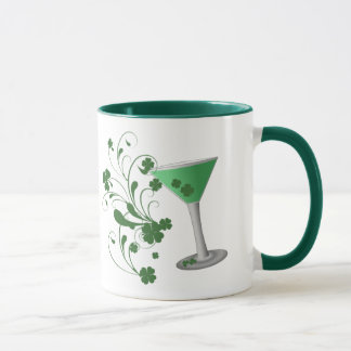 St Patrick's Day Martini Mug
