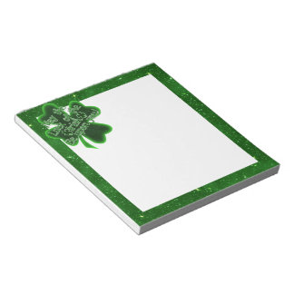 St. Patrick's Day - May The Luck Of The Irish... Notepad