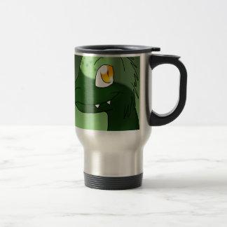 St. Patrick's Day Microraptor Stainless Steel Travel Mug