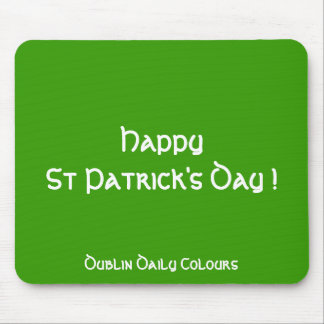 St Patrick's Day Mousepad
