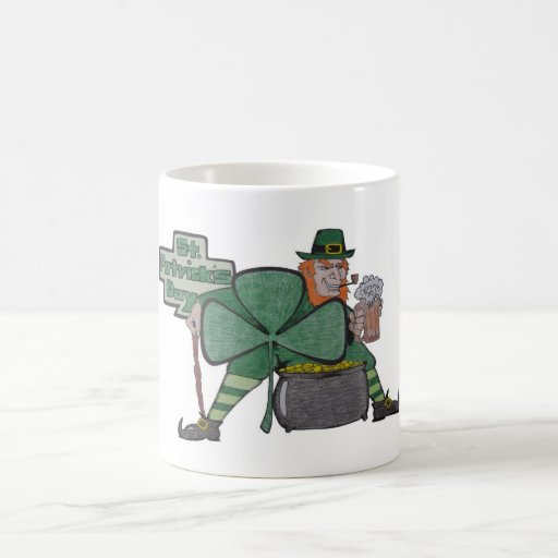 st patrick's day coffee mugs