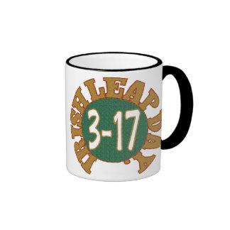 St. Patrick's Day Mug. Ringer Mug