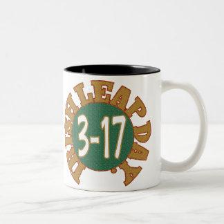St. Patrick's Day Mug. Two-Tone Mug