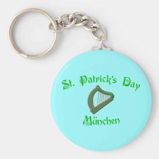 St. Patrick's Day Munich Key Chain