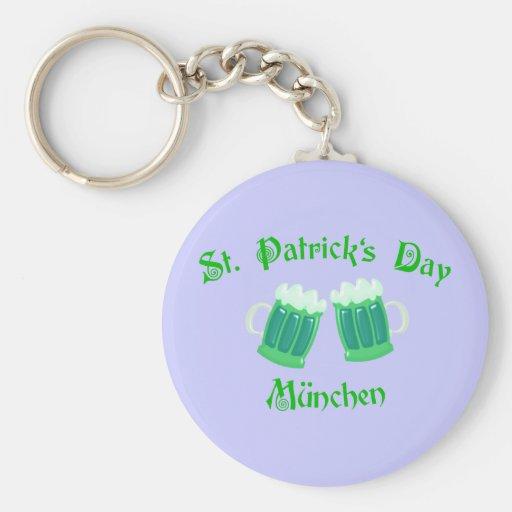 St. Patrick's Day Munich Keychains