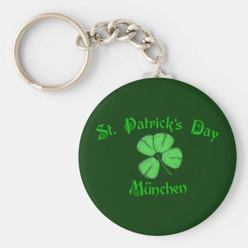 St. Patrick's Day Munich Keychain