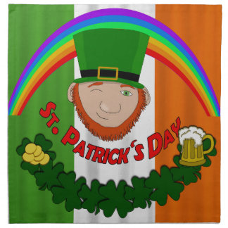 St. Patricks day Napkin