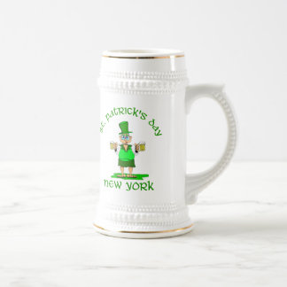 st patricks day new york gladys coffee mugs