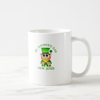 St Patricks Day ~ New York lil Blarney Mug
