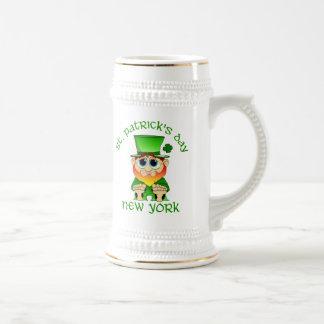 St Patricks Day ~ New York lil Blarney Coffee Mug