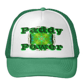 """St.Patrick's Day """"Paddy Power"""" Cap"""