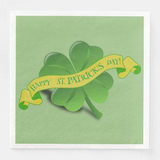 St Patrick's Day Paper Napkins