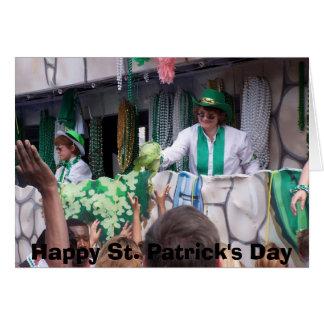 St Patricks Day Parade Greeting Card