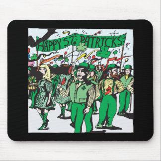 St Patricks Day Parade Mouse Pad