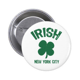 St. Patricks Day Parade NYC Button