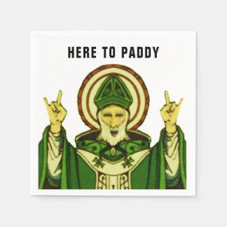 St. Patrick's Day party Disposable Serviette