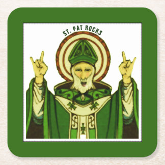 St. Patrick's Day party ideas Square Paper Coaster