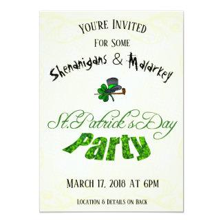 St. Patrick's Day Party Invitation -