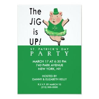 st patricks day party invitations