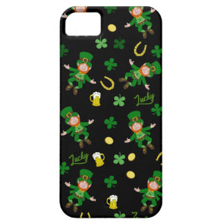St Patricks day pattern Case For The iPhone 5