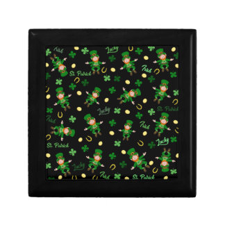 St Patricks day pattern Gift Box