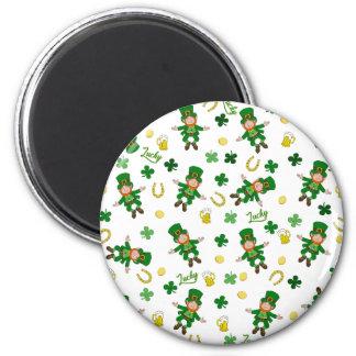 St Patricks day pattern Magnet