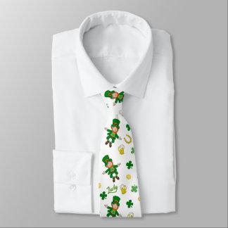 St Patricks day pattern Tie