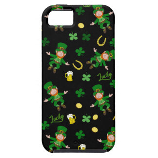 St Patricks day pattern Tough iPhone 5 Case