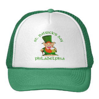 St Patricks Day ~ Philadelphia Trucker Hats