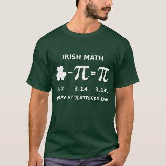 St Patricks Day & Pi Day Combination T Shirt Dark