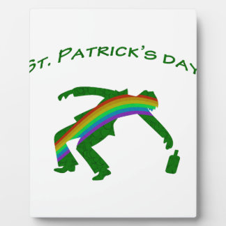St. Patricks day Plaque