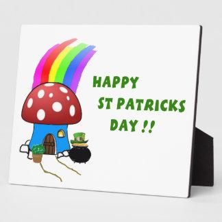 St Patricks Day Plaque