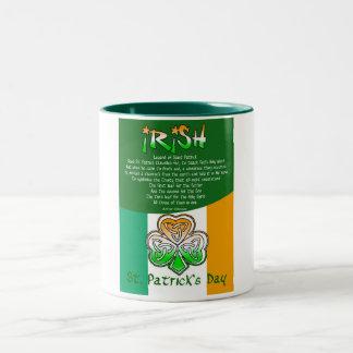 St. Patrick's Day Poetry  Mug