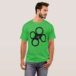 st. patricks day police handcuff clover T-Shirt