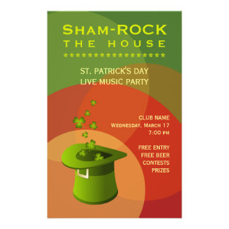St. Patrick's Day Pub Party Event flyer