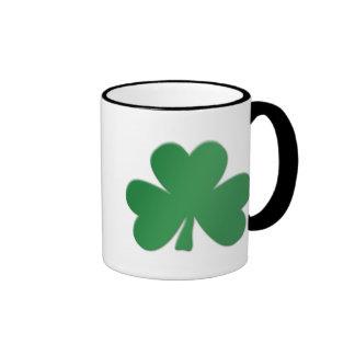 ST Patricks Day Ringer Mug