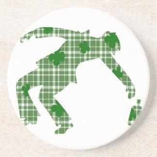 St. Patricks day Sandstone Coaster